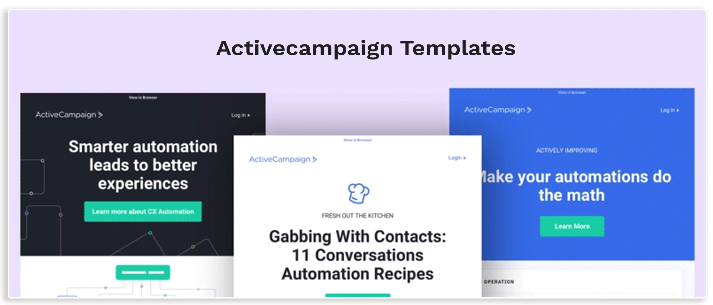 Active Campaign Template