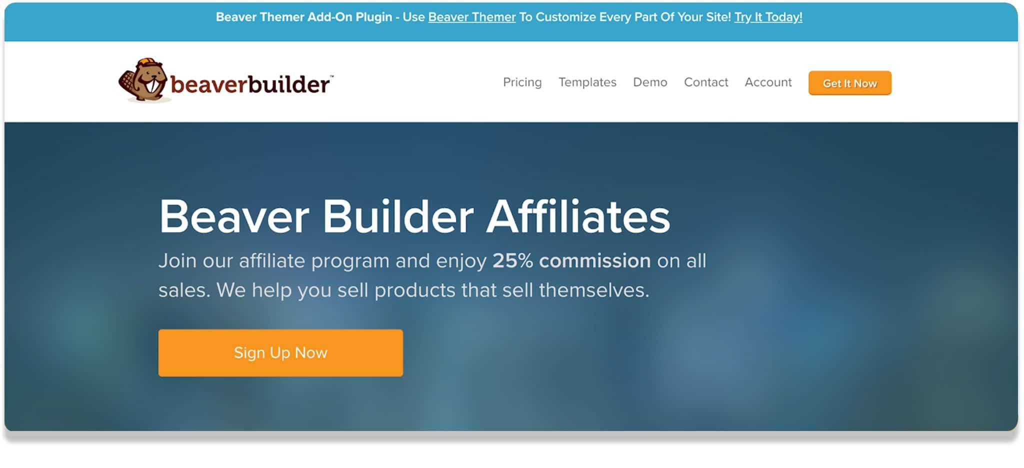Beaver Builder affiliate