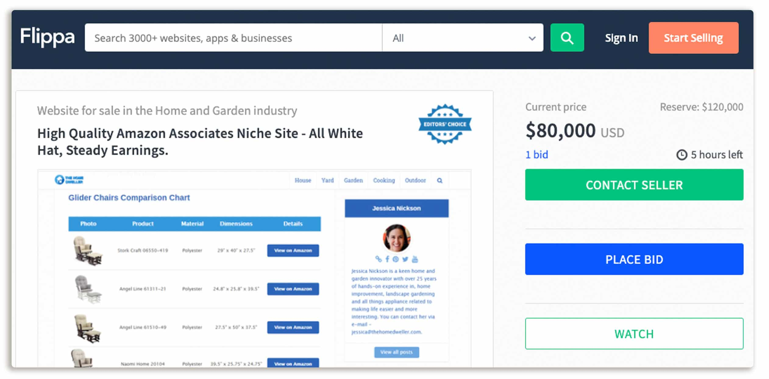 Buy and Flip websites