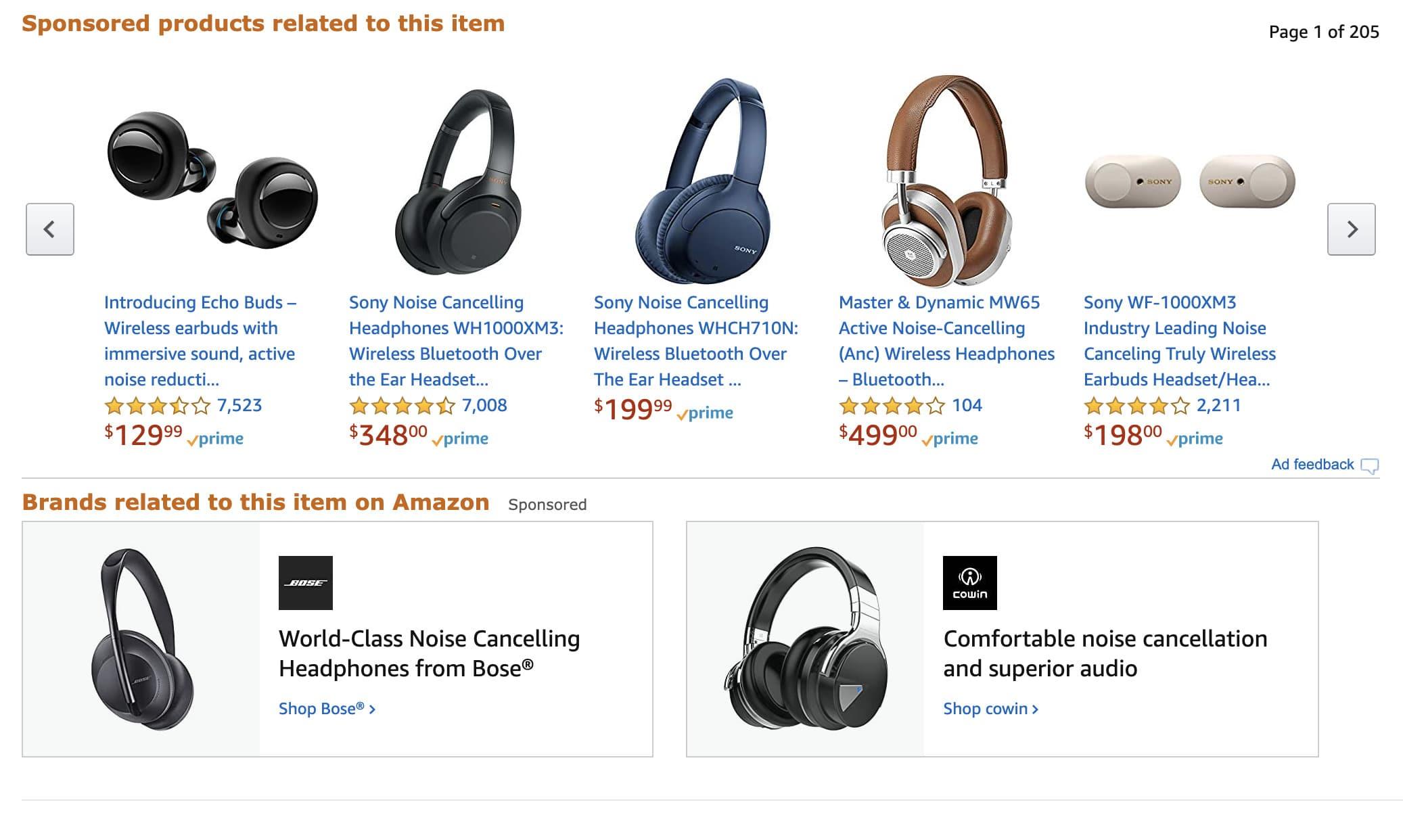 Amazon Titles and descriptions