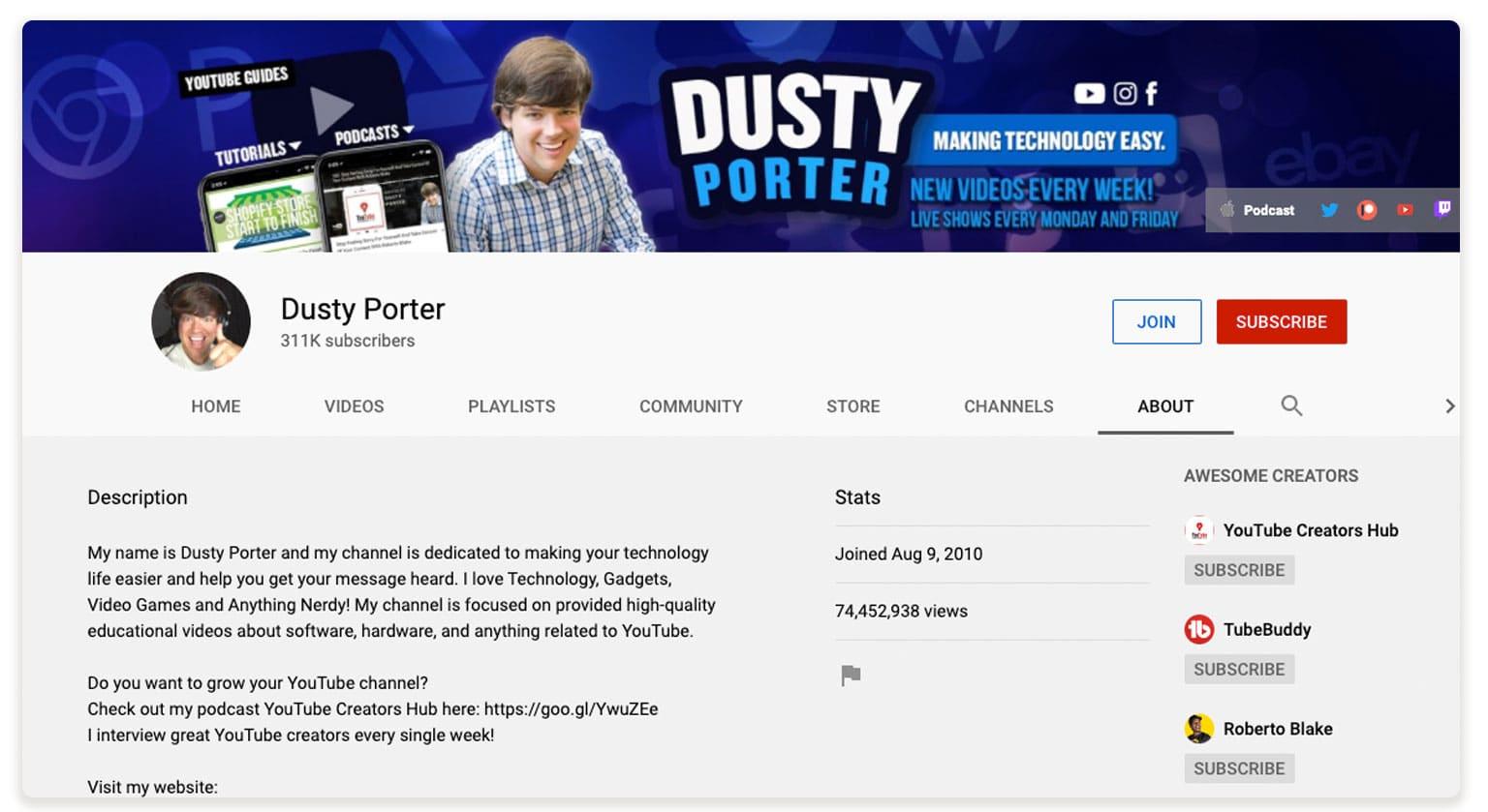 DustyChannel