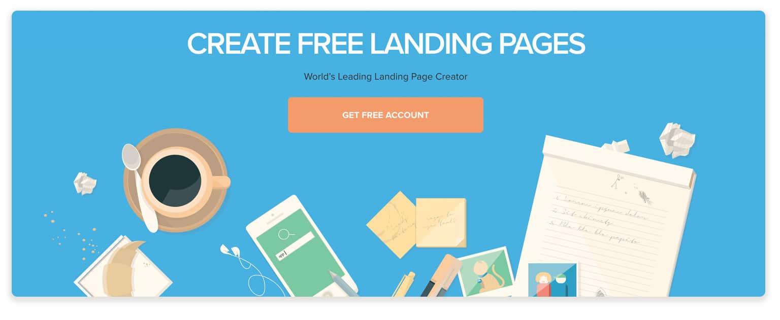 lander page builder