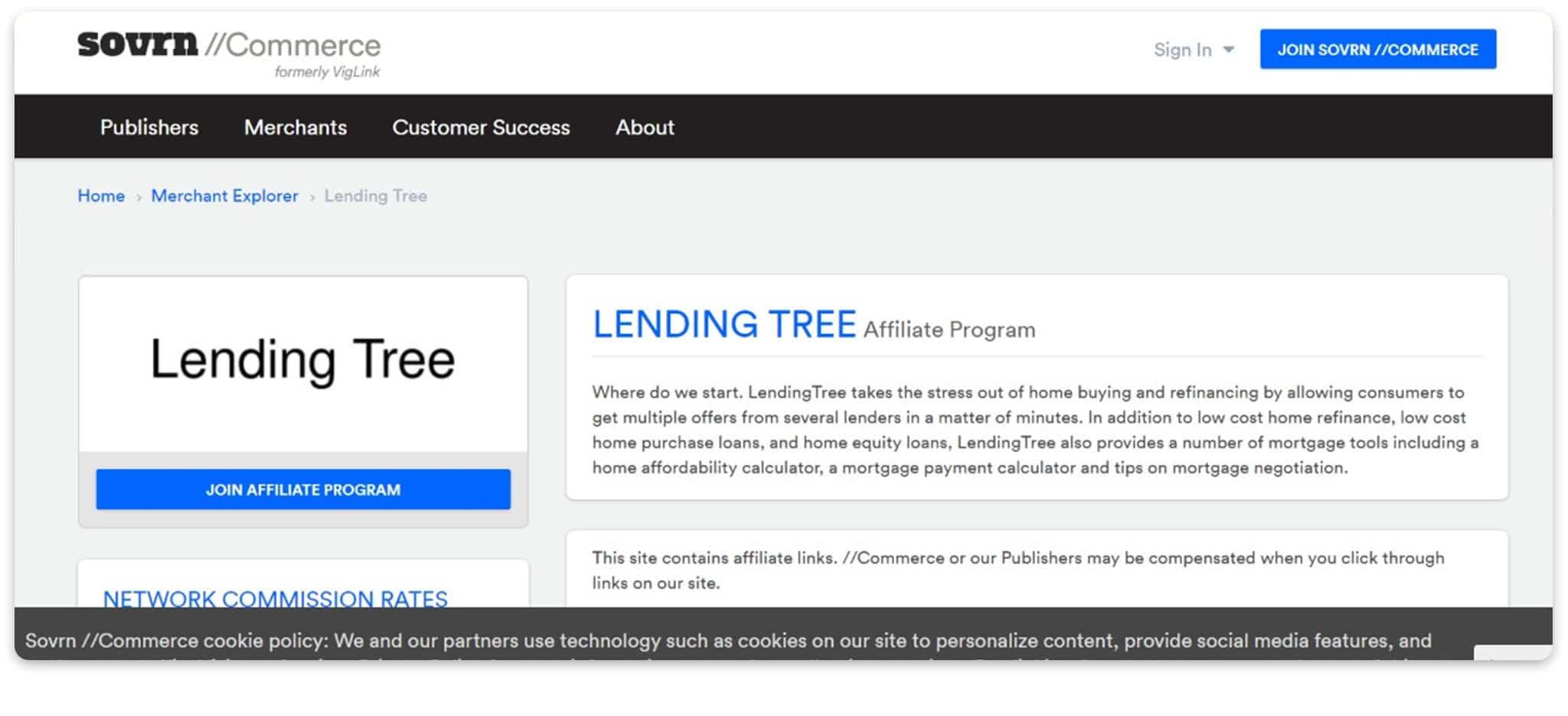 LendingTree Affiliate Program affiliate