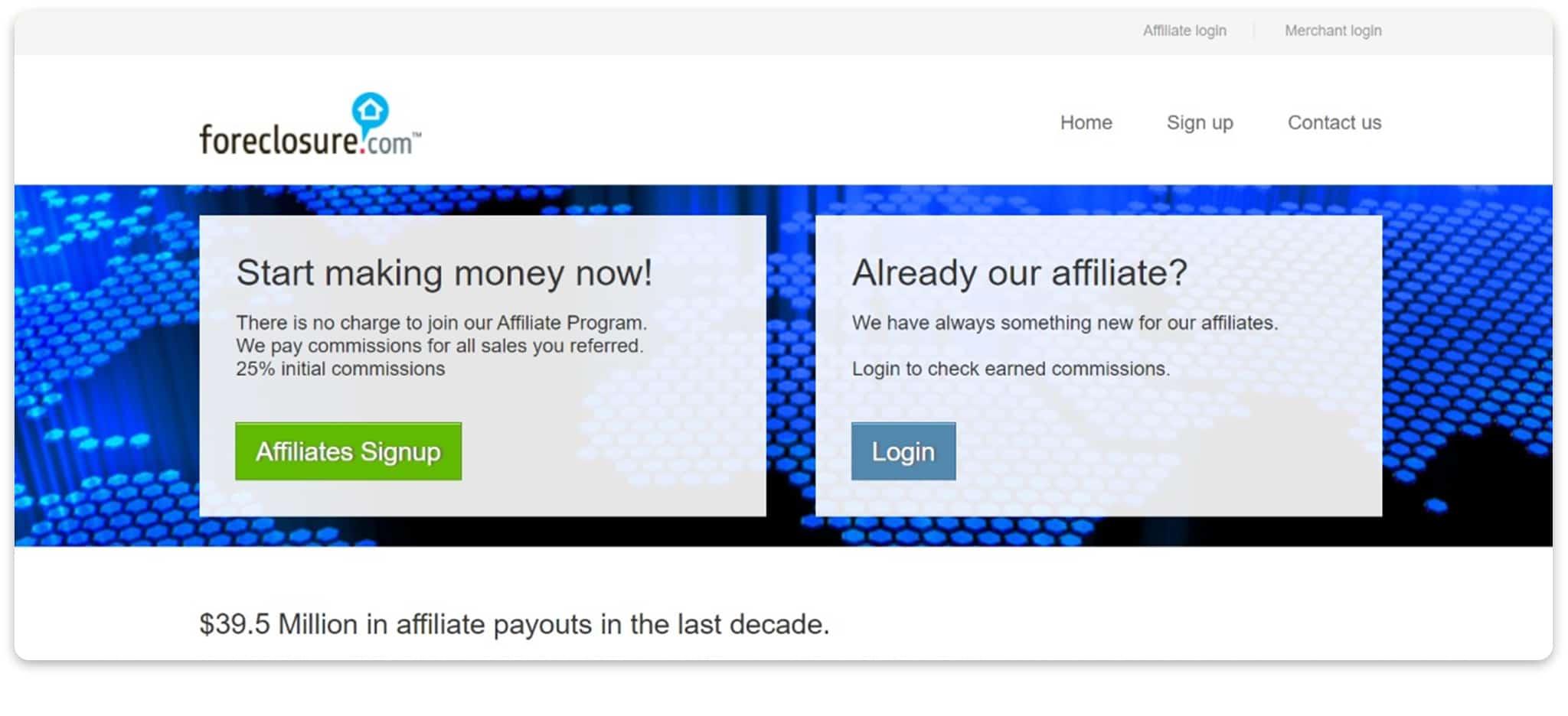 Foreclosure.com affilaite