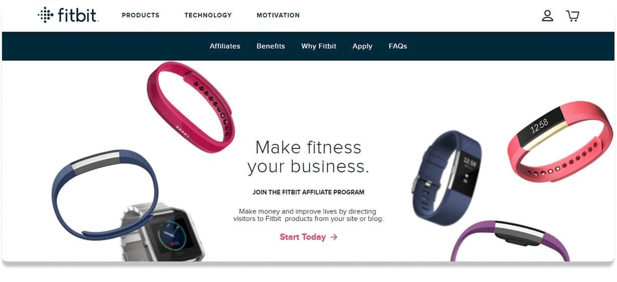 Fitbit Affiliate Program