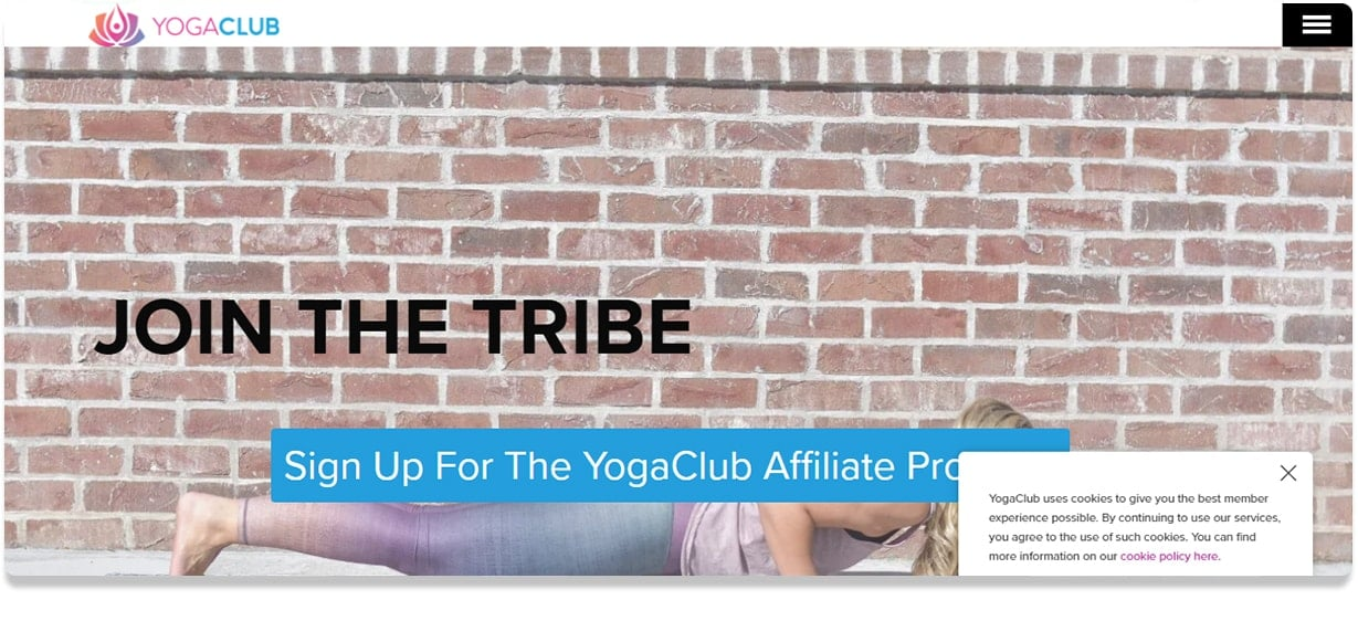 Yoga Club Affiliate