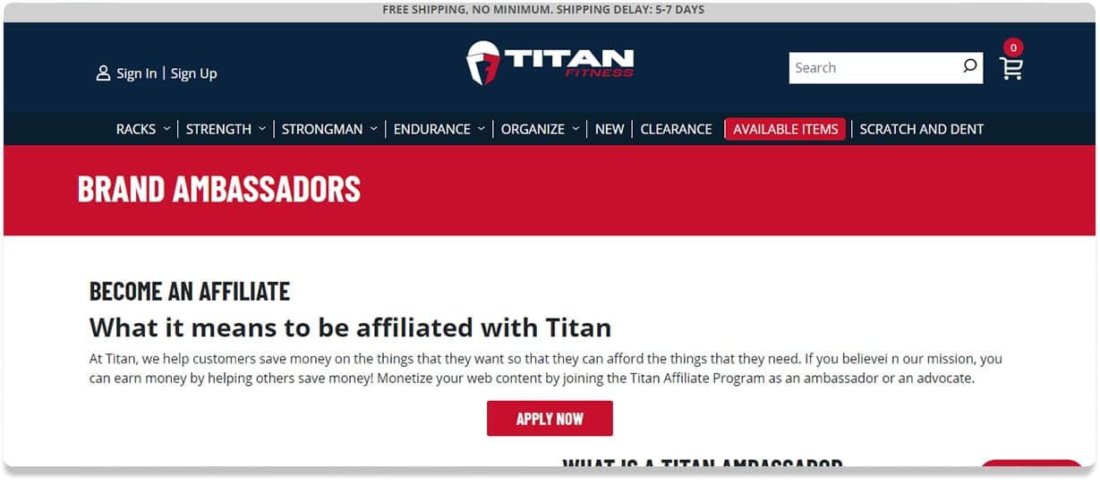 Titan Affiliates
