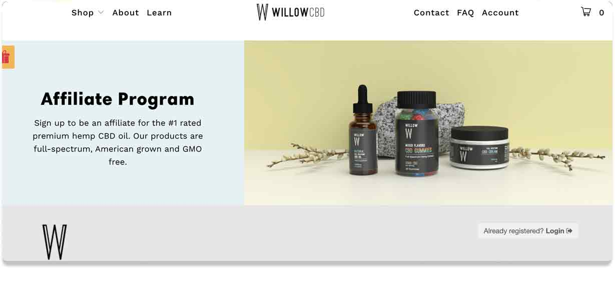 Willow Affiliate