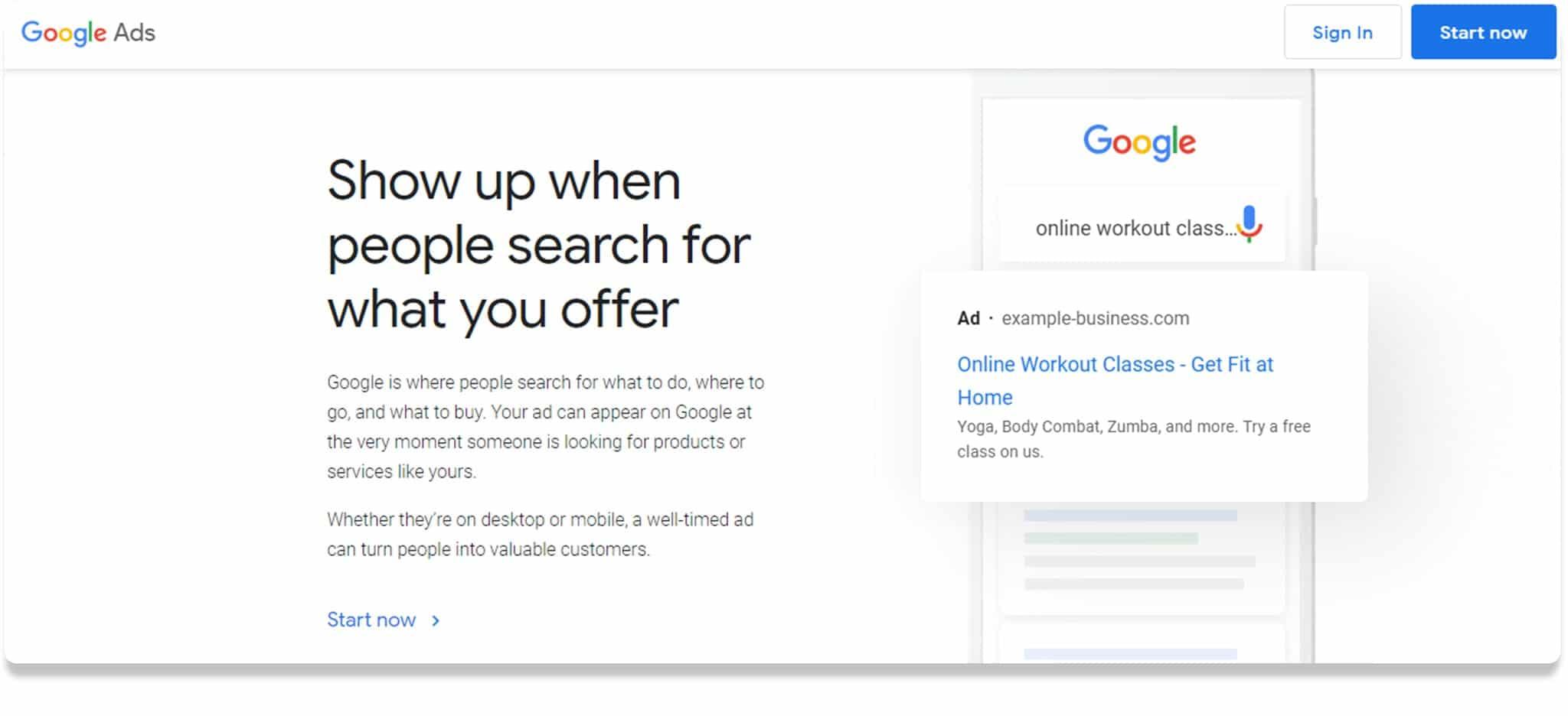 Google Planner
