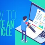 How to write and article
