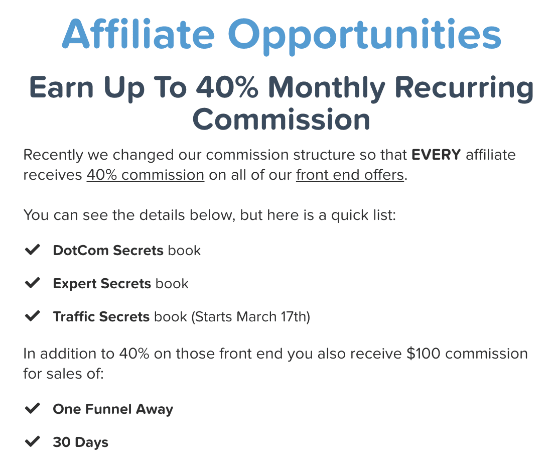 Affiliate Opportunities