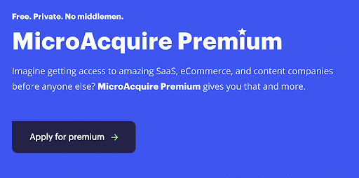 MicroAquire Premium