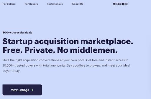 MicroAquire Site